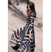 IMPERIAL ZEBRA LONG DRESS