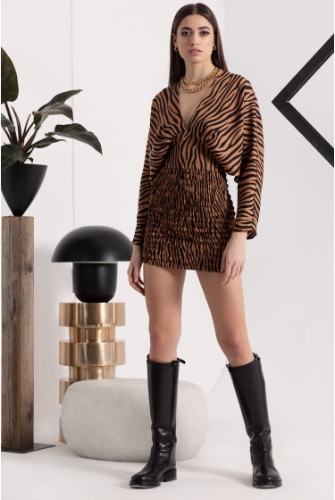 TIGER EYE SHORT DRESS